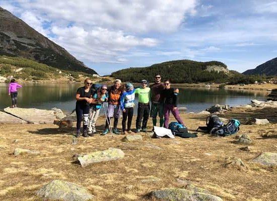 група планински преход 2018
