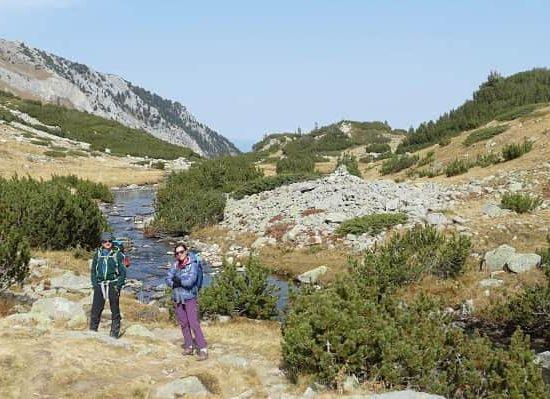 Преход към връх Синаница