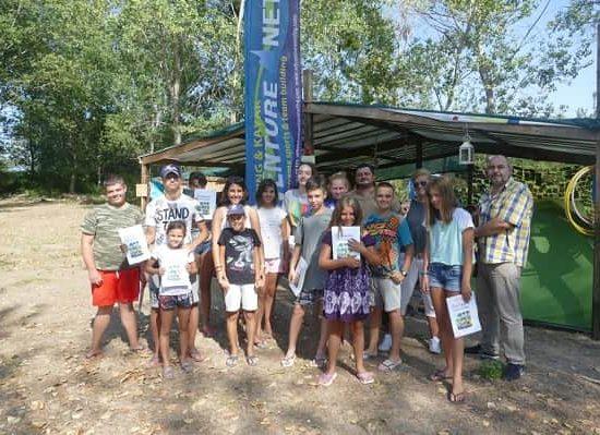летен лагер с беседа за животни