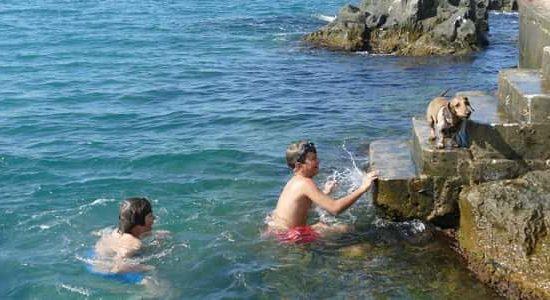 летен лагер с плуване в море