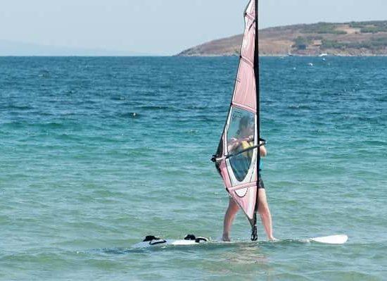 летен лагер със сърф за деца