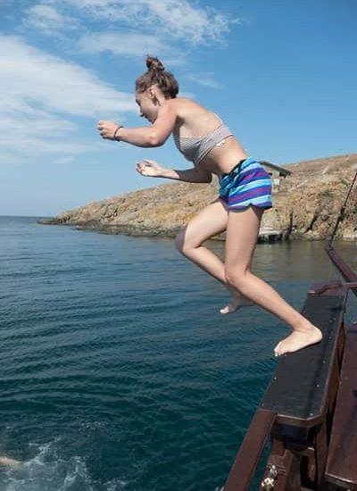 скачане от корабче
