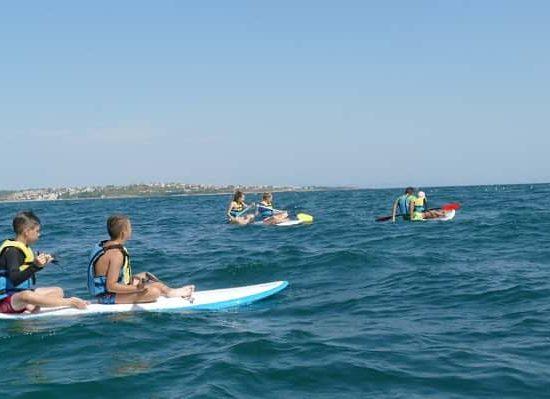 състезание на морски лагер