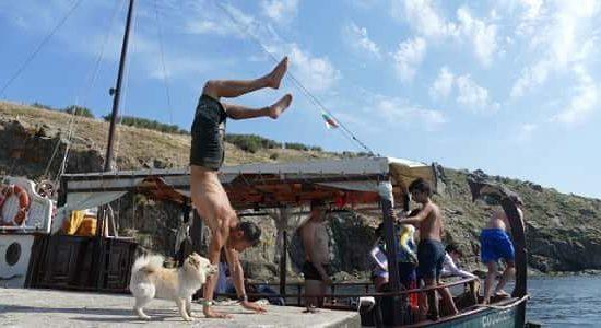 упражнения по време на морски лагер