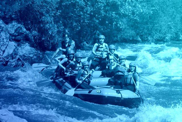 Сплав с Adventure Net по реке Струма